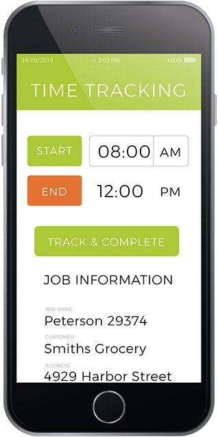 Arborgold-phone-TIME-TRACKING-600