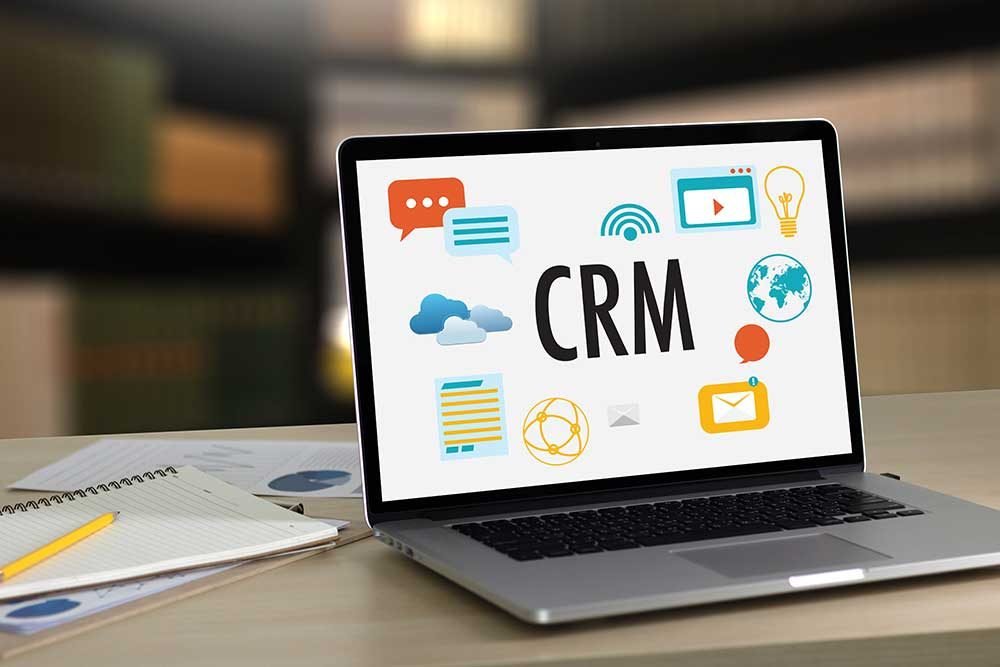 CRM for landscape company