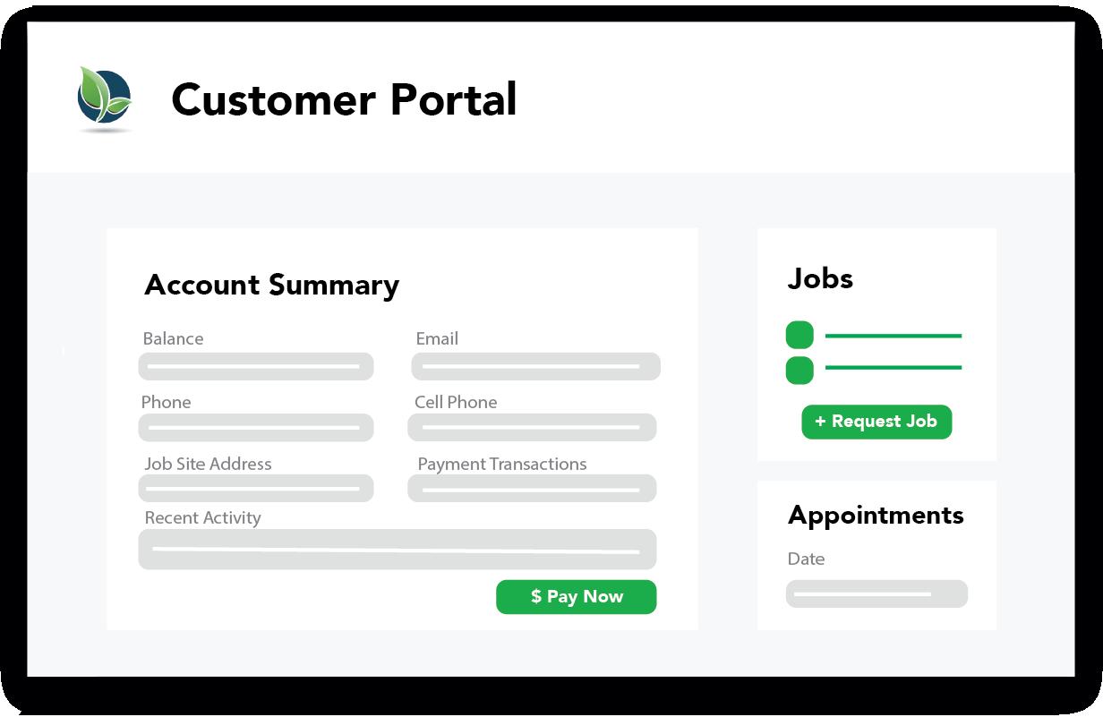 Arborgold software customer portal online