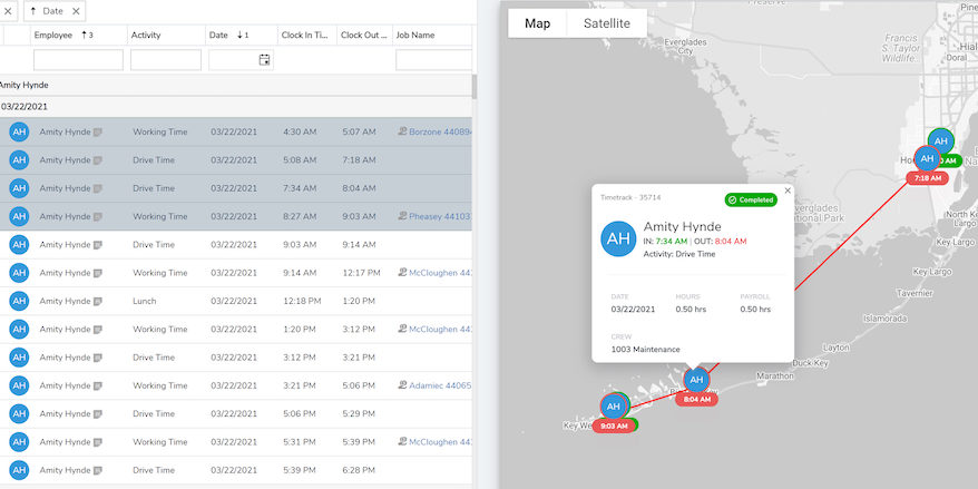 Spring 2021 arborgold time tracking feature enhancements